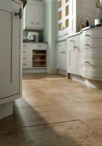 CLEARANCE Noce Honed & Filled Travertine Stone Floor Walls Tiles 305x305mm