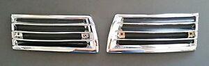 Porsche 911 912 65-68 Plastic Chrome Horn Grille-Pair