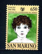 SAN MARINO - 1986 - 40° anniversario dell'UNICEF