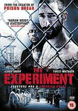 The Experiment (DVD) Everyone has a breaking point + Special Features