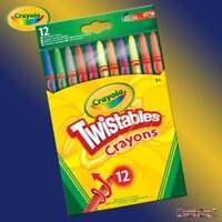 Crayola Twistables 12 Wax Twist Up Pencil Crayons