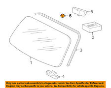 PORSCHE OEM 95-98 911-Windshield Adhesive Kit 00073151300