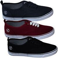 Sonneti Mens Vee Canvas Pumps/ Shoes Canvas Sneakers - Black, Maroon, Navy