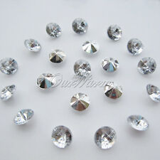 1000 Acrylic Diamond Table Confetti 6.5mm Wedding Party Vase Filler Decoration