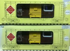 Aristocraft 46057A-2 CN Box car G Scale 2 car set different numbers