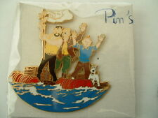 PIN'S TINTIN - RADEAU COKE EN STOCK