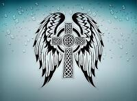 Sticker aufkleber  tuning keltisch celtic wikinger kreuz jdm bomb r2