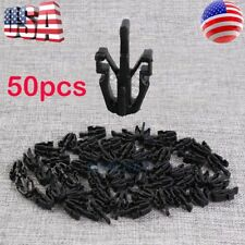 50 PCS For Chevy GMC Colorado Canyon Grille Retainer Clips 2004-12 Black Plastic