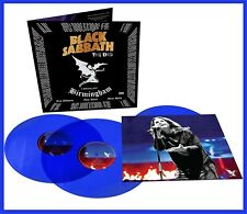 "Black Sabbath ""the end -live in birmingham"" limited 180g blue Vinyl 3LP NEU 2020"