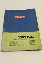 Fiat Parts Catalog 130NC Manual