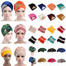 Luxury Arab Muslim Women Velvet Turban Long Tail Head Scarf Hijab Cap Wraps Hats