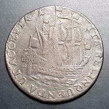 Netherlands 6 Stuivers Ship Scheepjesschelling Zeeland 1762 VF