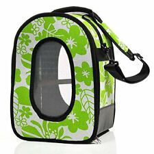 Adventure Bound Parrot Bird Travel Cage Bag Small Green