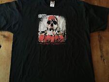 Back in Blood The 69 Eyes Black T Shirt Finland Goth Rock Finnish Band XL mint