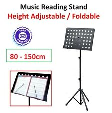 Music Reading Stand Lecture School Class Portable Height Adjustable Sheet Music