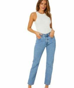 Womens Levis 501® ORIGINAL FIT JEANS size 28- 30