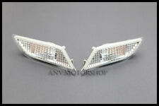 2012+ MERCEDES BENZ C-CLASS W204 AMG C250 CHROME BUMPER SIDE MARKER LIGHTS COVER
