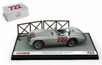 Model Car Scale 1:43 Brumm Mercedes 300 SLR a Thousand Miles diecast collection