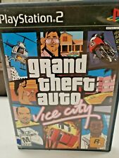 Grand Theft Auto Vice City Ps2 Playstation 2 Free Shipping