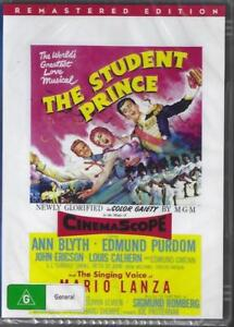 The Student Prince DVD Mario Lanza 1954 Remastered New Australian Release