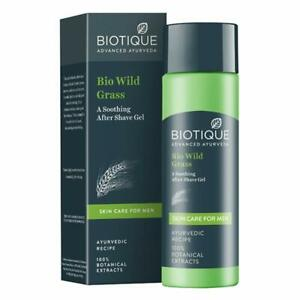 Biotique Bio Wild Grass A Soothing After Shave Gel For Men, 120 Ml