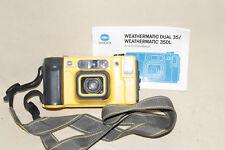 MINOLTA WEATHERMATIC DUAL 35 AF 35mm CAMERA 7868