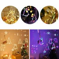3,5M Sterne LED Lichterkette Lichtervorhang Sternenvorhang Garten Weihnachtsdeko