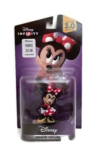 Disney Infinity 3.0 Edition Minnie Mouse Figure and Power Disc Toy Box Play NEW
