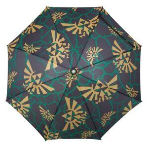 Zelda All Over Print Logos LED Umbrella w/ Flashlight