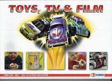 Catalogue Corgi Toys 2006 - TV et  Film - Catalog Car
