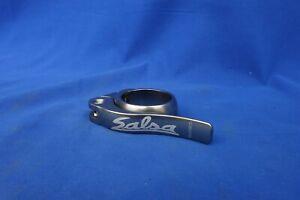 Salsa Flip-Lock Quick Release Seat Post Clamp Collar - 35.0mm - Pewter