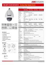 CAMARA CCTV HIKVISION DOMO PTZ ANALÓGICO  EXT  Z 36X  mod.: DS-2AF1-518