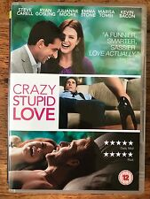 Steve Carell Ryan Gosling Emma Stone CRAZY STUPID LOVE ~ 2011 Romcom | UK DVD