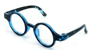 """Blue Circle Frame Glasses for 14.5"""" American Girl Wellie Wishers Doll Clothes"""