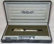 Parker Duofold International Sterling Roller Ball Pen Very Gently Used in Box