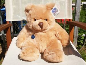 """RARE VINTAGE GUND - SQUEEZY BEAR - #2195 - 20"""" - 1986 - VERY NICE - ALL TAGS"""