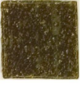 Dark Brown Vitreous Glass Mosaic Tiles - 25 Tiles - 3/4 inch
