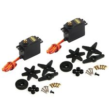 2x MG995 metal gear servo high speed torque for RC helicopter car airplane etc