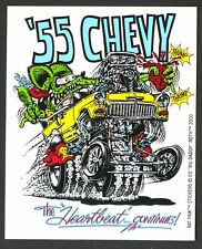'55 Chevy STICKER Decal Ed Big Daddy Roth Rat Fink RF1