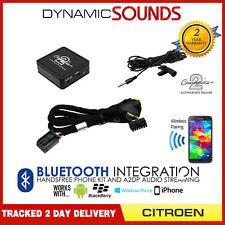 Citroen C5 Bluetooth adapter 2004 On Streaming music handsfree calls CTACTBT002
