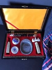 Old Chinese Calligraphy Set …in presentation box