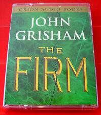 John Grisham The Firm 2-Tape Audio Book D.W.Moffett Legal Thriller