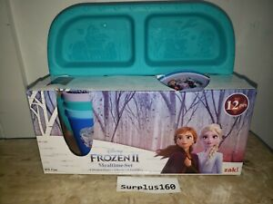 Zak Designs Disney Frozen 2 Mealtime Set, 12 Piece 4 Plates, 4 Bowls, 4 Tumblers