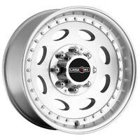 "Vision 81 Hauler 19.5x7.5 8x6.5"" +0mm Machined Wheel Rim 19"" Inch"