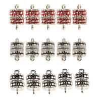 5pcs Magnetic Clasps For Necklace Bracelet Rhinestone Buckle Connector DIY
