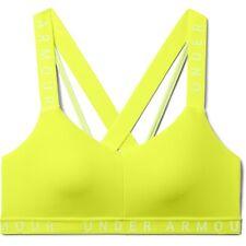 Under Armour Women's Wordmark Strappy Low-Support Sportlette Sports Bra Size XL
