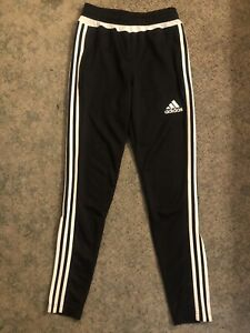 Adidas Men's TIRO 15 Training Tapered Soccer Pants Black/White XS Extra Small