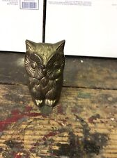 WAL-MART Vintage Brass Owl Figurine Statue FREE SHIPPING