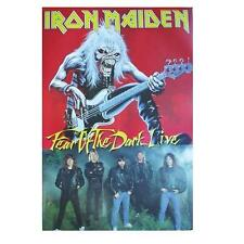 "IRON MAIDEN POSTER ""BANDPICTURE /FEAR OF THE DARK LIVE"""