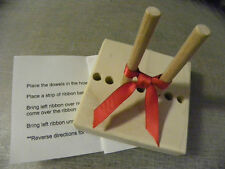 BOW MAKER  MAKES DIFFERENT SIZES BOWS made of wood use with your rubber stamps